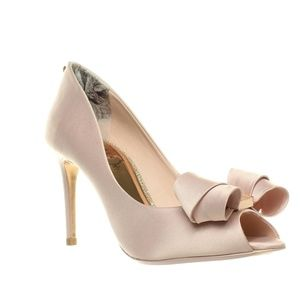 TED BAKER STUNNING PINK VYLETT OPEN TOE SHOES US 5